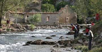 River fishing - Hotel Villa Dvor