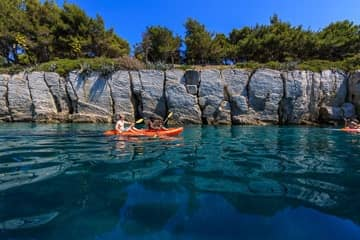 Sea kayaking - Hotel Villa Dvor